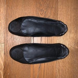 Tory Burch black loafers size 9